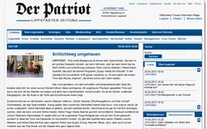 Der Patriot am 21.4.15 über das Konzert Stephan-Eisel-Quartett